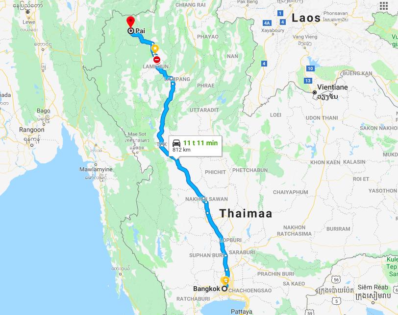 Matkavinkki: Pohjois-Thaimaan Pai